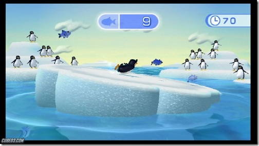 40552_Wii Fit penguin slide