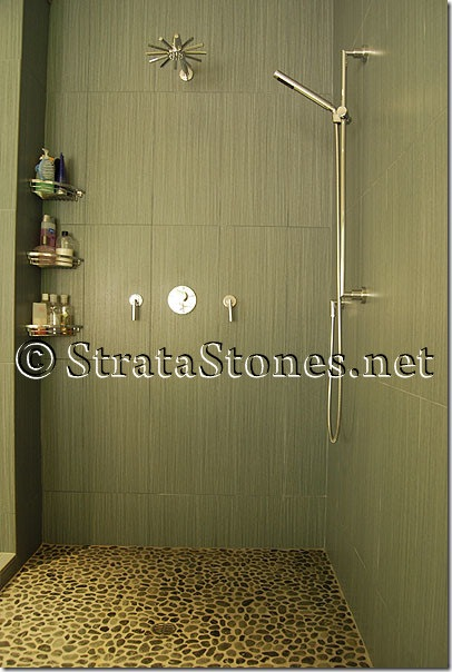 green-pebble-tile-shower-pan2