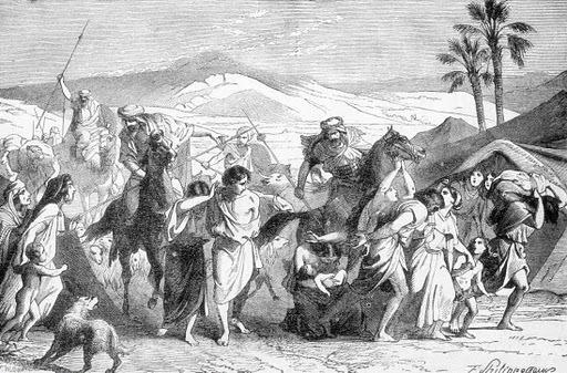 ISRAELITES  CARRIED  CAPTIVE