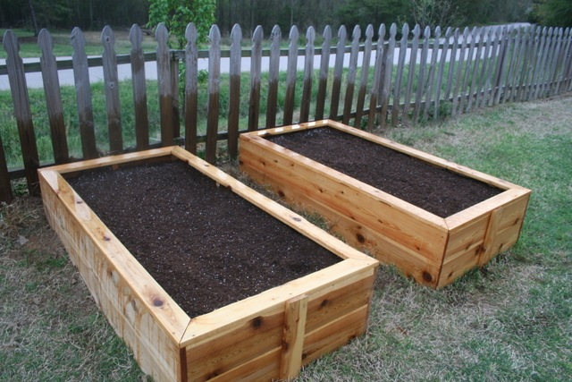Raised Garden Bed Layouts
