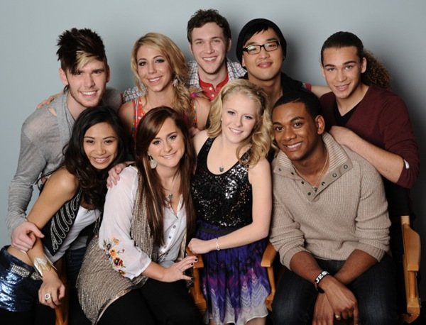 AMERICAN IDOL: The Final 9: Clockwise From Top L; Colton Dixon, Elise Testone, Phillip Phillips, Heejun Han, DeAndre Brackensick, Josh Ledet, Hollie Cavanaugh, Skylar Laine and Jessica Sanchez. CR: Michael Becker / FOX.