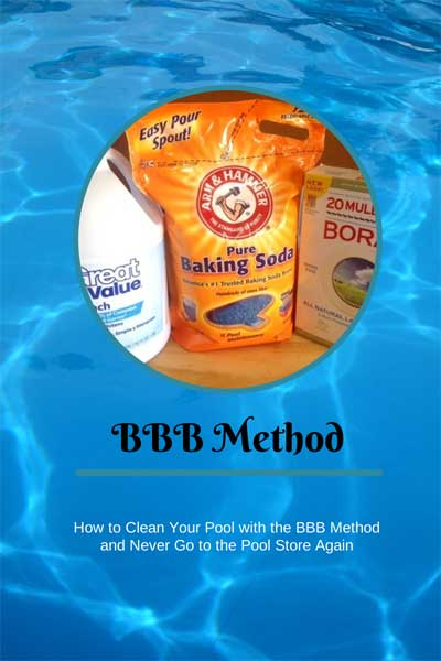 The Bbb Method How To Clean Your Pool On Your Own With Grocery Store Products Amy J Bennett