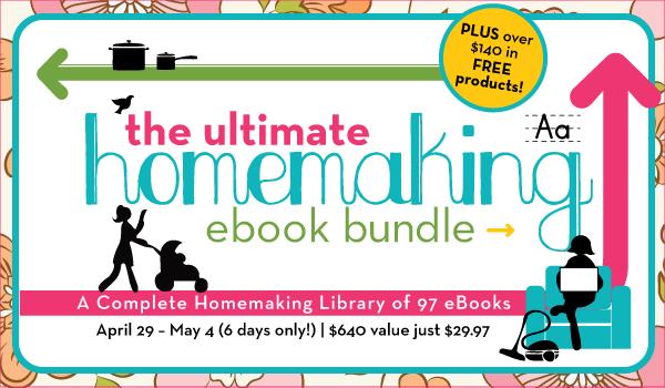 The ultimate homemaking ebook bundle amy j bennett for fandeluxe Gallery