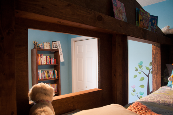Treehouse Bed for Kids   Amy J. Bennett