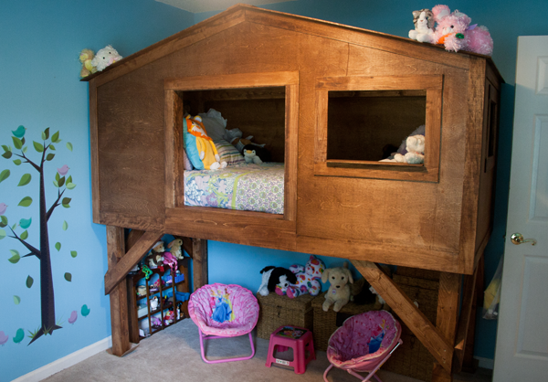 Treehouse Bed For Kids Amy J Bennett