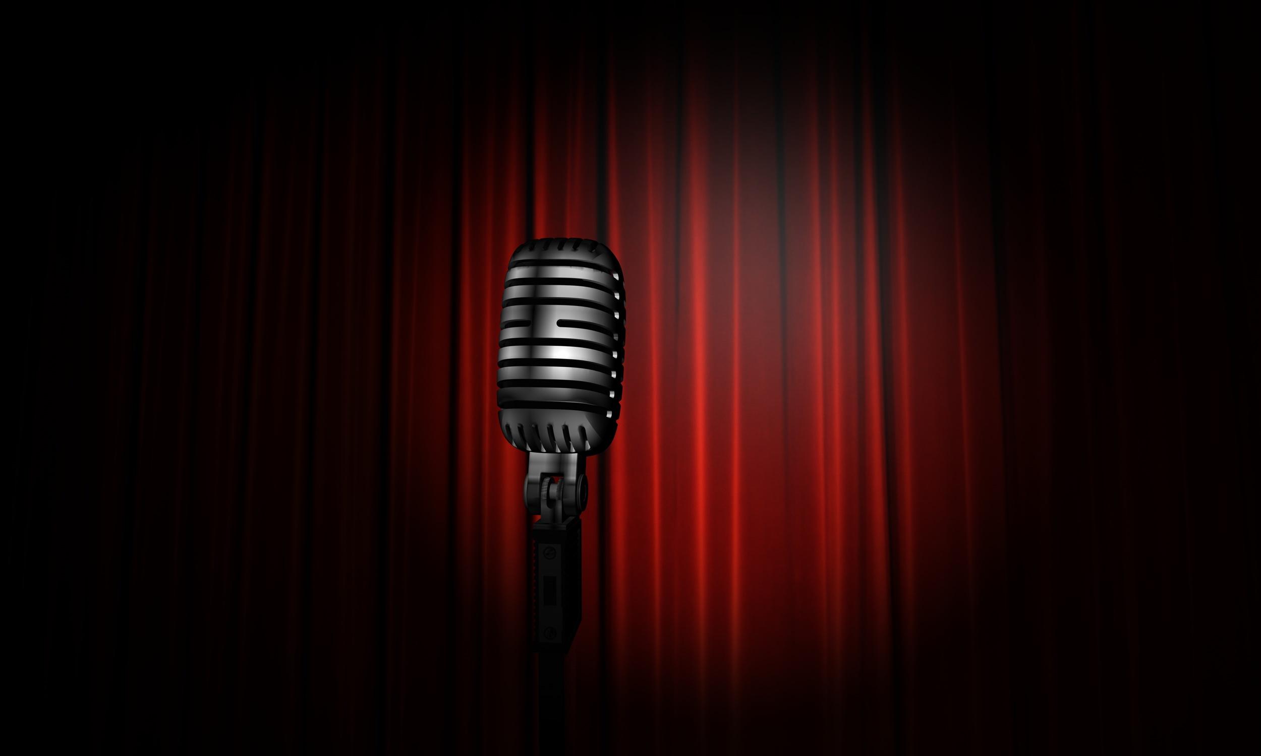Talent Show Stage Lights Clip Art
